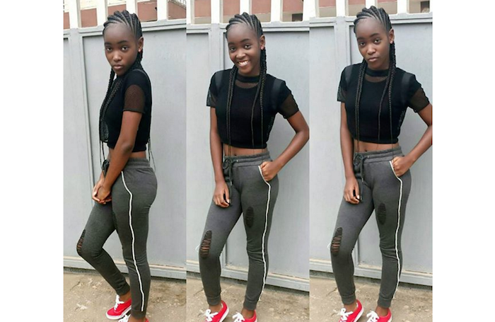Mercy Aigbe's 14 year old daughter shares adult-like pics; Fans pounce on her theinfong.com