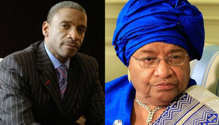 Liberian president, Ellen Sirleaf appoints her son as head of Liberian Central Bank theinfong.com 700x399