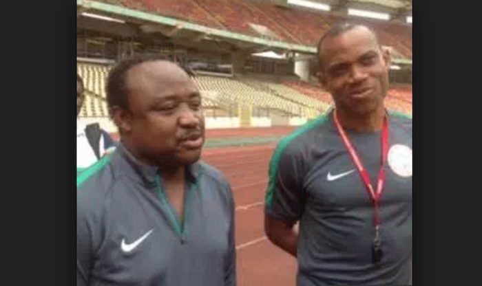 Sunday Oliseh in another dispute with NFF over sack of personal assistant, Tijani Babangida theinfong.com 700x416