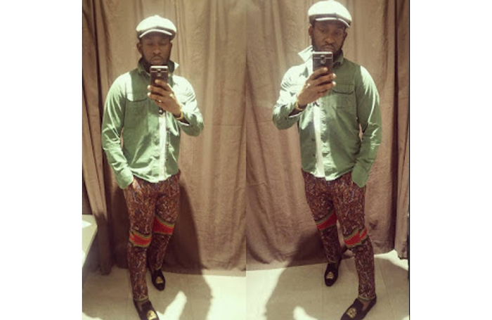 Checkout how this Nigerian guy wears his NYSC Khaki in London, UK (Photos) theinfong.com