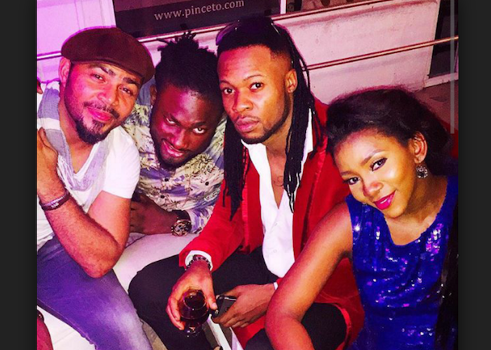 ramsey nouah and genevieve theinfong.com 700x499