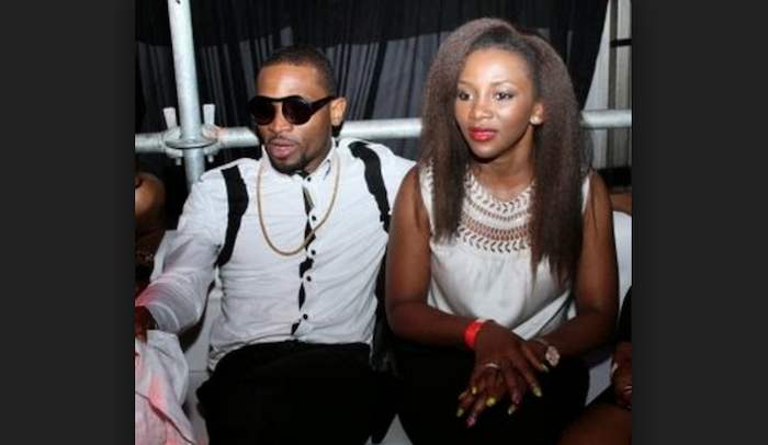 Nigerian celebrities who dropped out of school - dbanj and genevieve theinfong.com 700x406