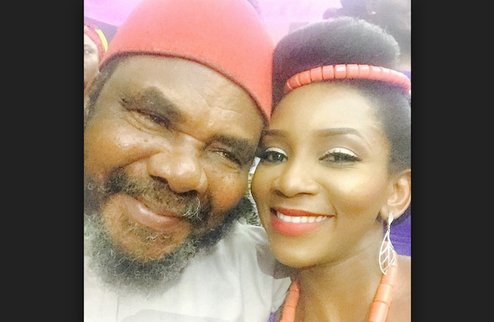 8 Nigerian celebs that will get married this year - Genevieve and Pete Edochie theinfong.com 700x457