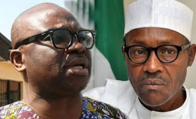God is angry with Buhari - Fayose theinfong.com