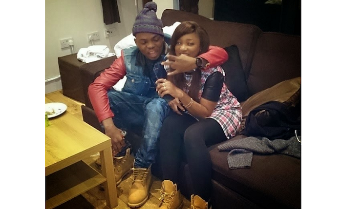olamide and baby mama - girlfriend theinfong.com 700x429