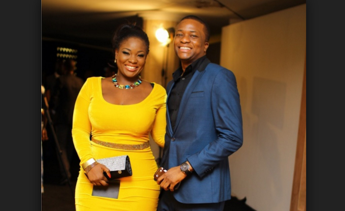17 Nigerian celebs with dual citizenship - toolz and husband theinfong.com 700x430