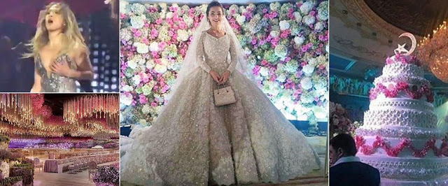 Check out this extravagant billion dollar wedding theinfong.com