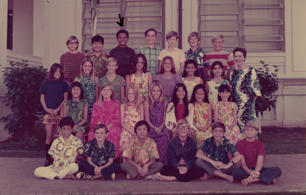 Obama shares throwback photo from his elementary school theinfong.com