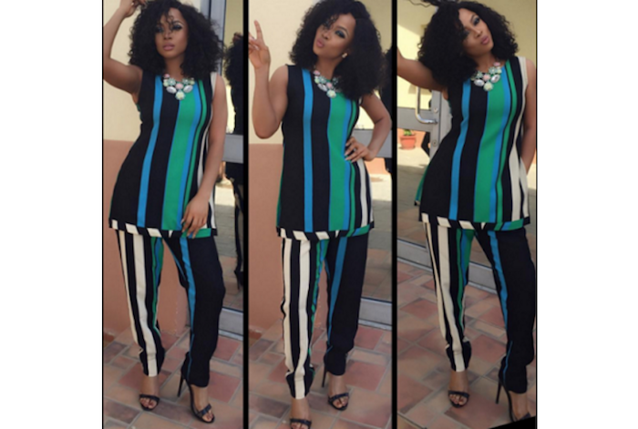 Toke Makinwa lovely in new photos theinfong.com 700x471