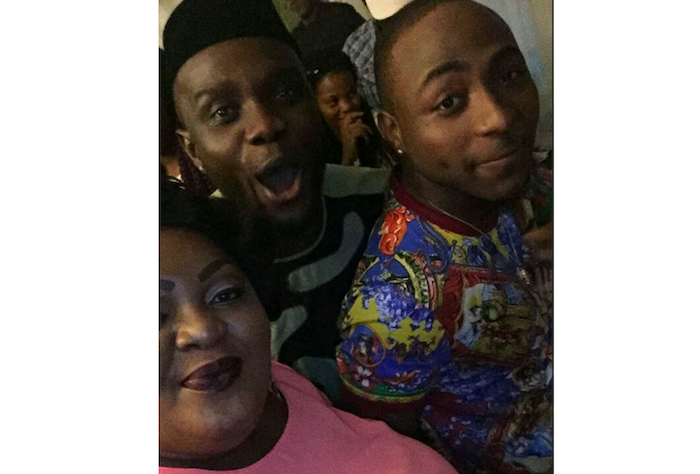 See what Actress Eniola Badmus was caught doing at Davido's Daughter Imade birthday party theinfong.com 700x474
