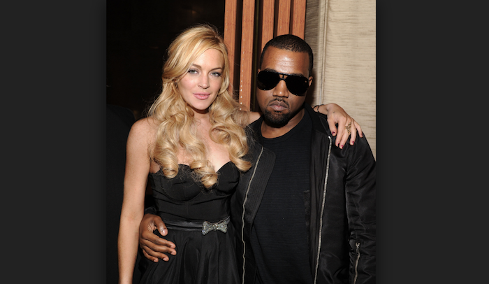 The long list of celebrities Lindsay Lohan has slept with.. - Kanye West and Lindsay Lohan theinfong.com 700x406