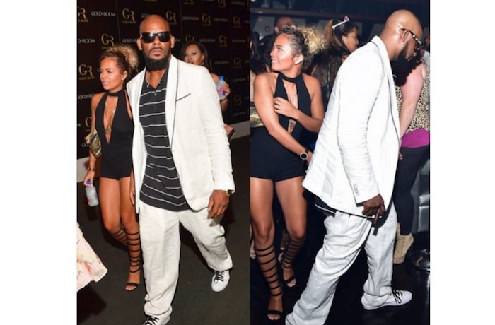 49 year old R Kelly now dating 19 year old girl (Photos) theinfong.com 700x460