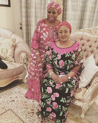 lovely-new-photo-of-aisha-buhari-with-her-senior-special-assistant-dr-hajo-sani-theinfong-com