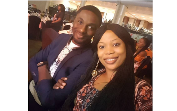 Toyin Aimakhu's estranged hubby, Adeniyi Johnson showers praise on his new found love, Seyi Edun theinfong