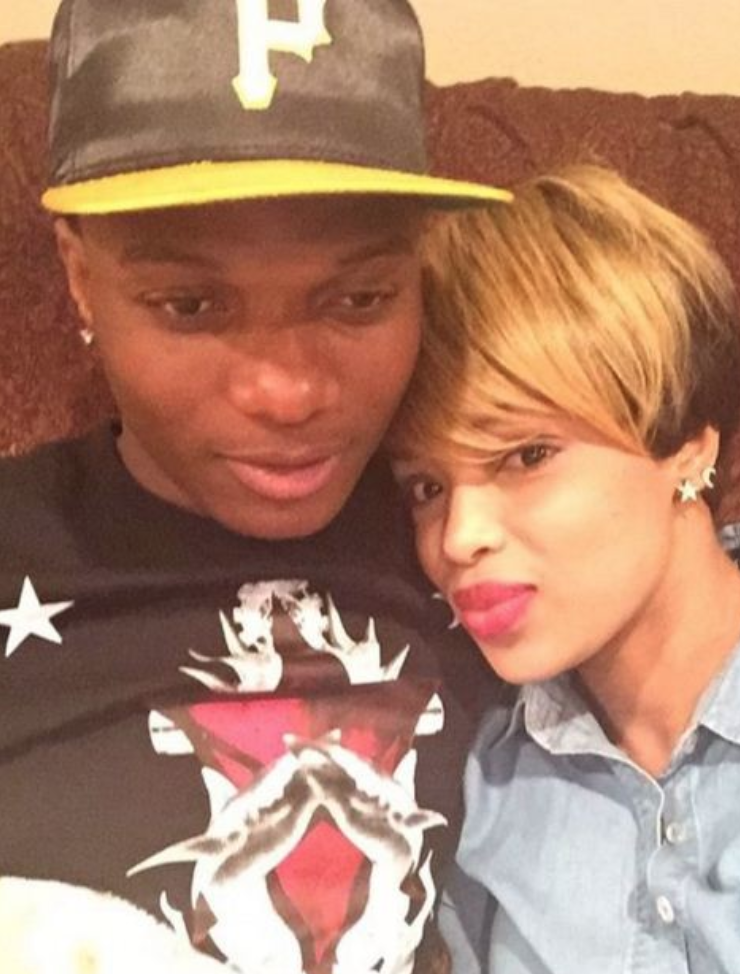 Wizkid and 2nd babymama Binta Diallo when things were rosy theinfong