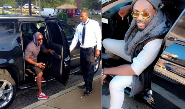 Jim Iyke taxi business - Mr Taxi - theinfong