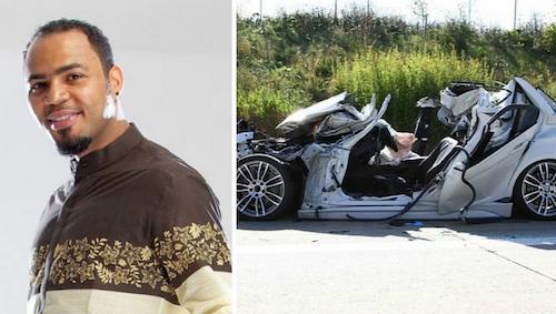 Ramsey Nouah car crash? theinfong