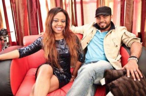 Ramsey Nouah and wife theinfong