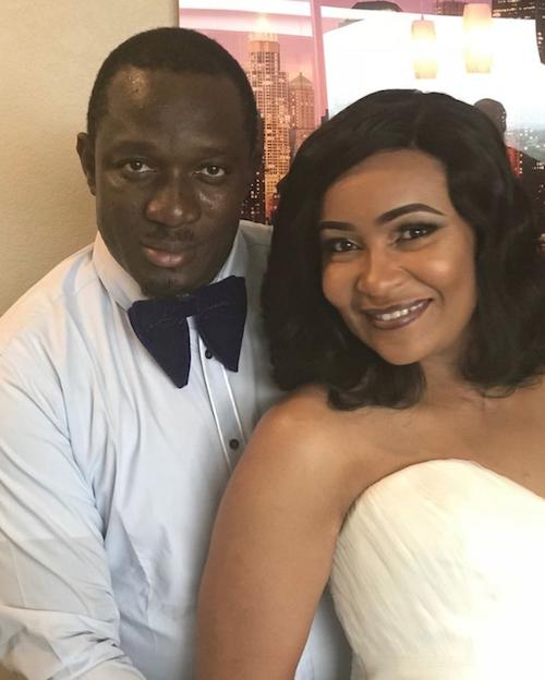 Doris Simeon weds Taiwo Oduala THEINFONG