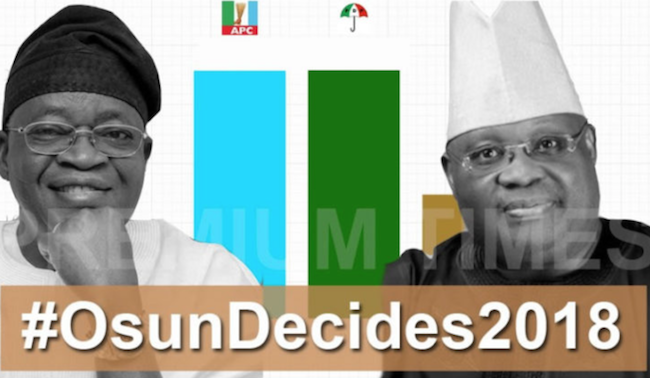 Ademola Adeleke rejects Osun Rerun results theinfong