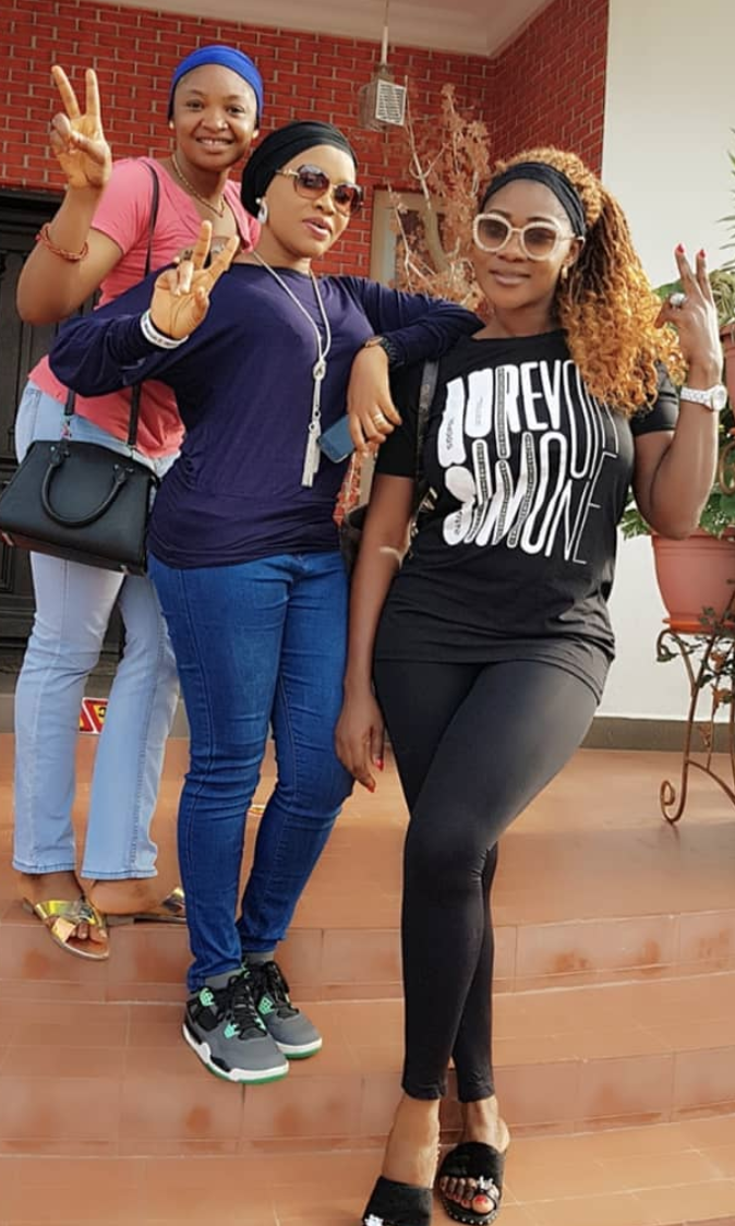 Mercy Johnson and friends theinfong