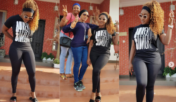 Mercy Johnson loses weight theinfong