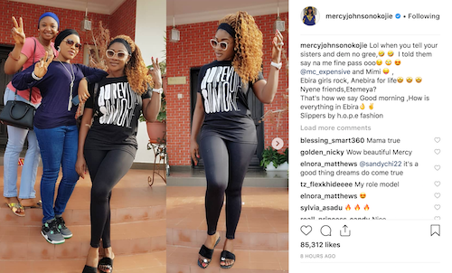 Mercy Johnson's post on Instagram theinfong