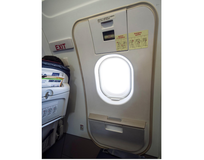 Passenger tries to open plane door theinfong