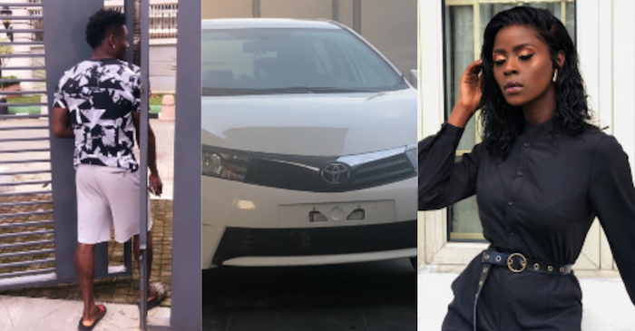 Obafemi Martins buys Khloe a car theinfong