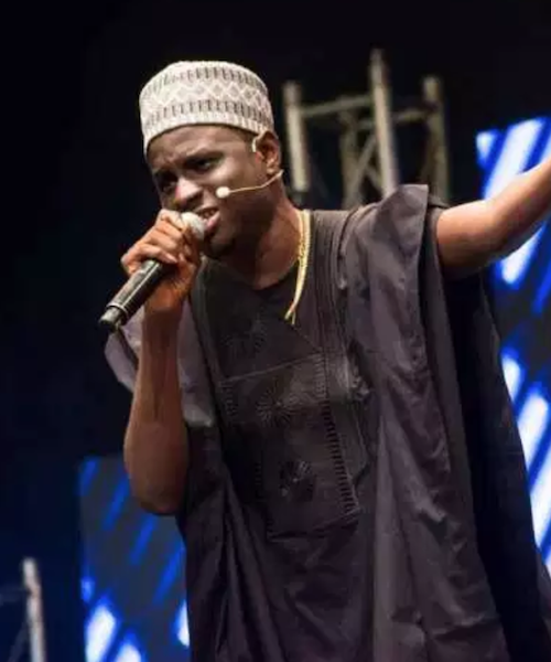 Kenny Blaq gives electrifying performance