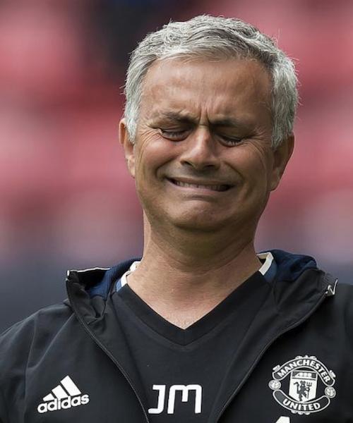 Mourinho sad