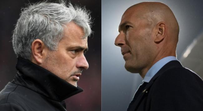 Zidane and Mourinho