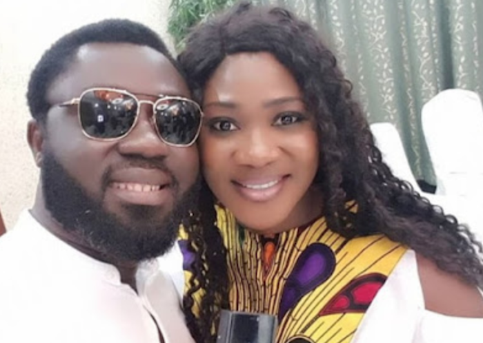 Mercy Johnson and husband, Prince