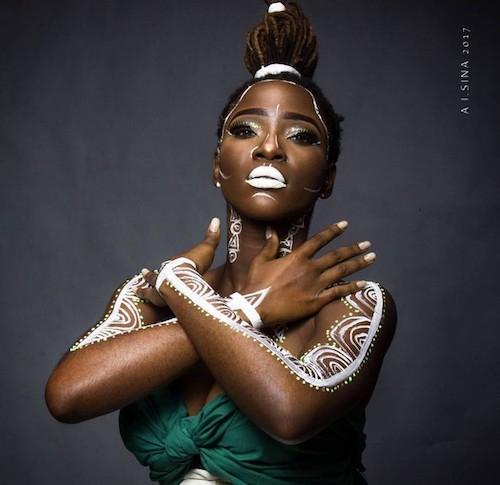 Beautiful Nigerian girl on 58th independence