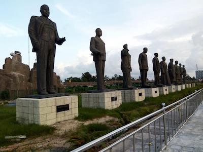 Okorocha statues theinfong