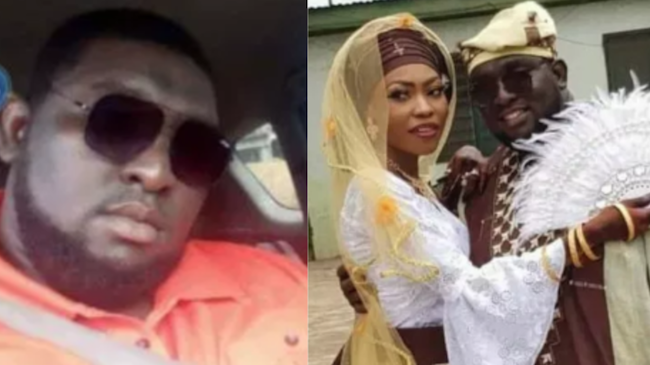 Groom dies in an accident