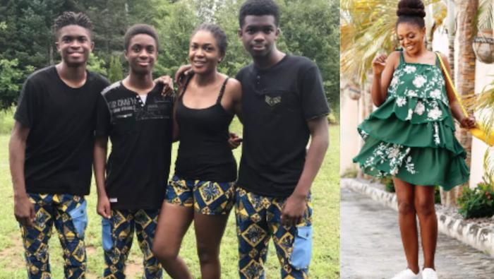 Omoni Oboli and sons