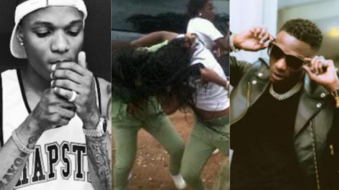 Fans fight over Wizkid