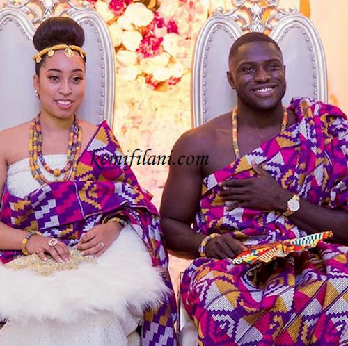 Sharon Oyakhilome and Philip Frimpong