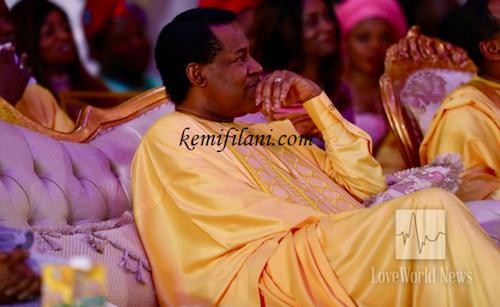 Chris Oyakhilome at daughter's wedding