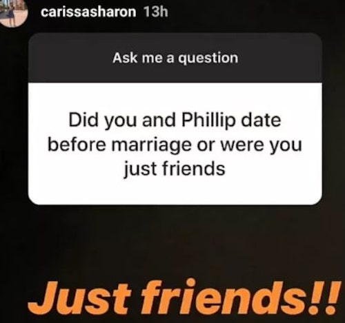 Carissa Sharon Oyakhilome message on Instagram about dating
