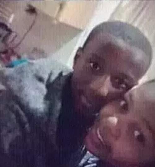 12 year old pregnant South African girl and boyfriend