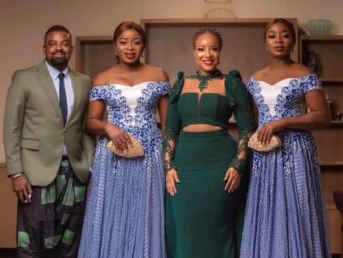Kunle Afolayan, Joselyn Dumas and the Aneke Twins at AMAA 2018