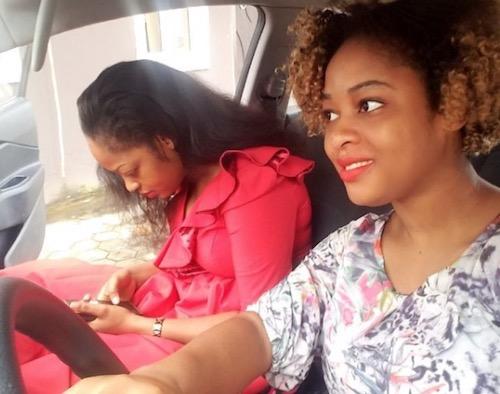 Olori Shilekunola Naomi Ogunwusi and sister, Phebian Oluwaseyi