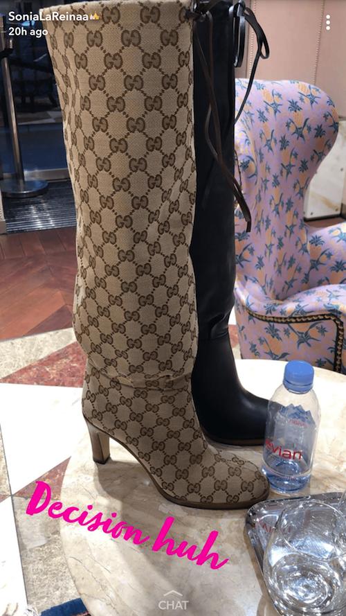 Sonia Gucci shopping