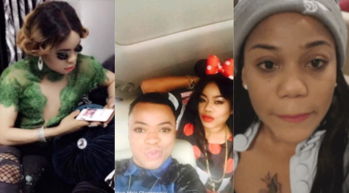 Toyin Lawani tries to make peace with Bobrisky