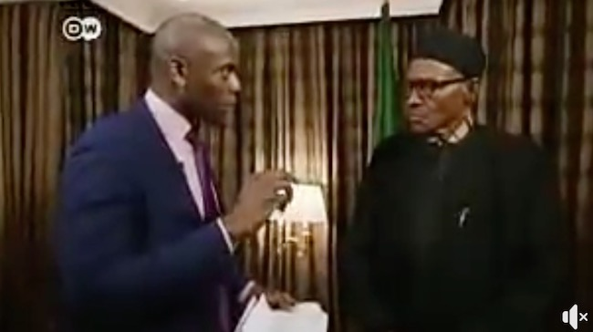 This video Buhari has gotten Nigerians angry