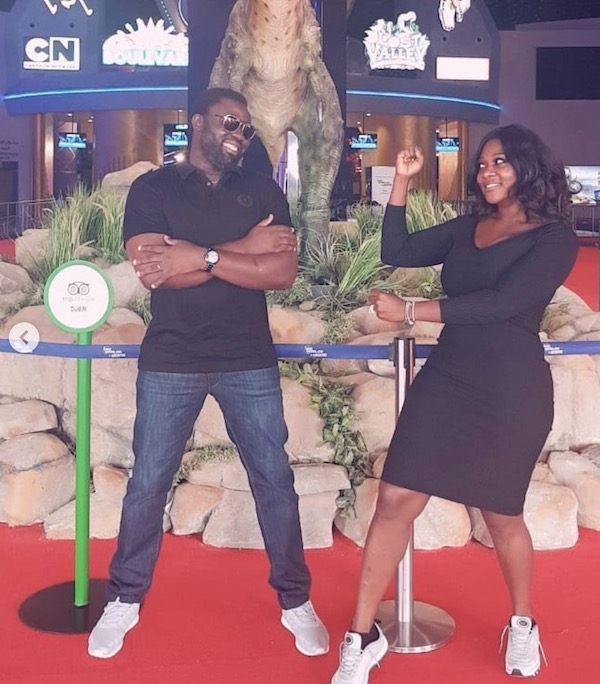 Mercy Johnson and Prince