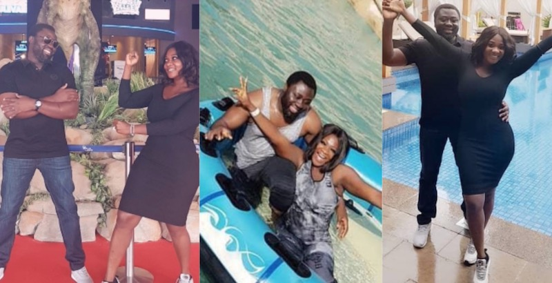 Mercy Johnson and prince in Dubai Valentine's day