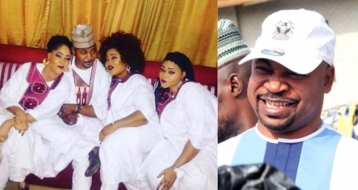 MC Oluomo celebrates 3 wives